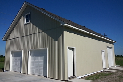 Custom Built Garages and Barns